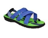 Flute Men Blue and green Sandals