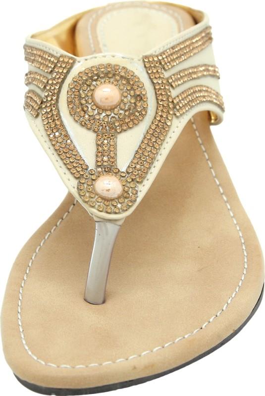 Lacosta Women Gold Flats