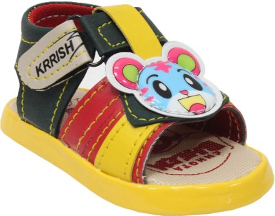 Snappy Baby Boys Yellow Sandals