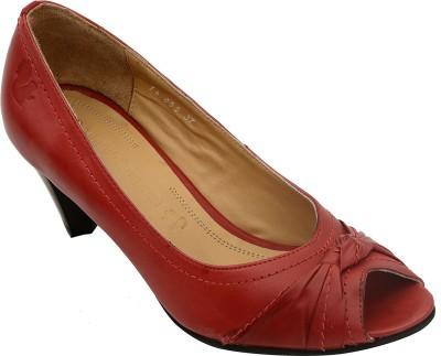 Salt N Pepper 12-056 Helen Red Women Red Heels