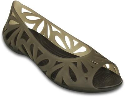 Crocs Women Brown Flats