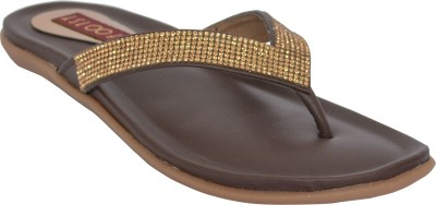 Footsy Women Brown Flats