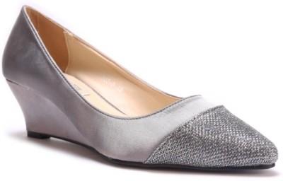 SOULIER CARTE Women Grey Heels