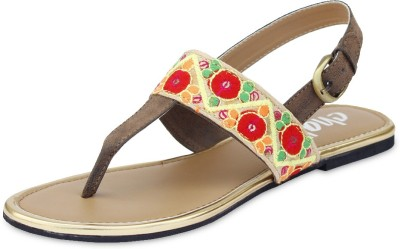 Chalk Studio Phooljhadi Women Multicolor Flats