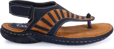 Twin Sandal 8603 Men Black Sandals