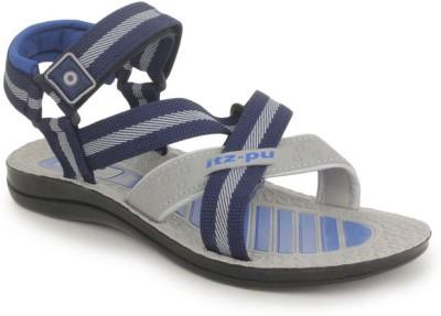 Italica Men Grey, Navy Sandals