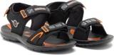 Provogue Men Black Sandals