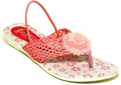 Luca Fashion Girls Pink Flats
