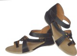 Buggu Women 04-Black Flats