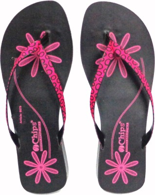 CHIPS Women Pink Flats