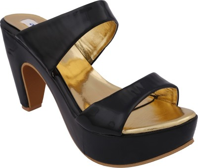 Allinyou Women Black Heels