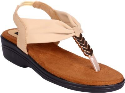karizma shoes Women Brown Wedges
