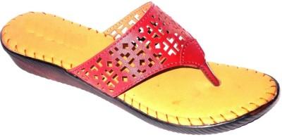 Angeela Women Tan Flats
