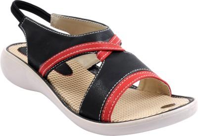 Bee Fashionable Girls Black Heels