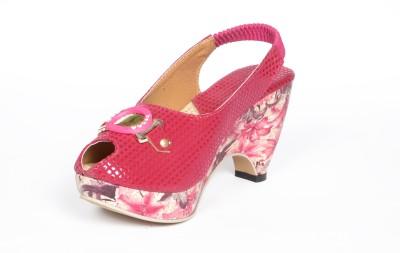 Reyes Reales Women Pink Heels