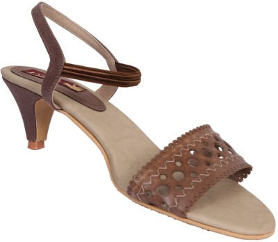 Port Women Brown Heels