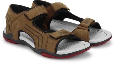 Cozy Men Brown, Red Sandals
