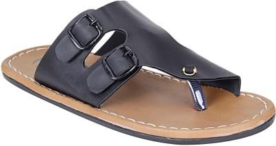 Emosis Men Brown, Black Sandals