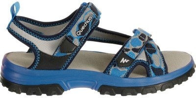 Quechua Boys Blue, Black Sandals