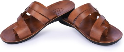 A-Future Men Brown Sandals