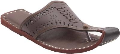 Ridhi Sidhi Casual Dark Men Brown Sandals