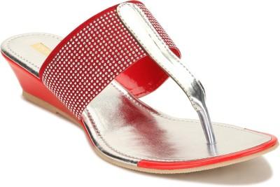 Yepme Women Red Wedges