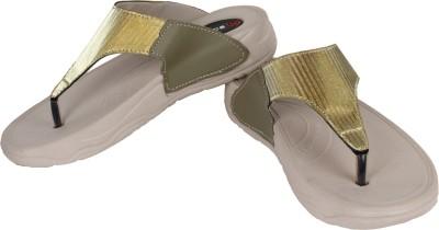 Troos Girls Beige, Gold Sandals