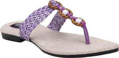 Versiliana Women Purple Flats