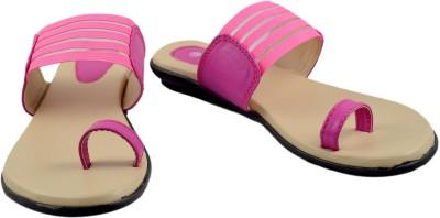 Walk N See Women Pink Flats