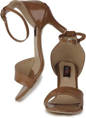 Naisha Women Brown Heels