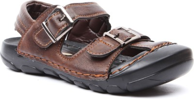 Foot Candy Boys Brown Sandals
