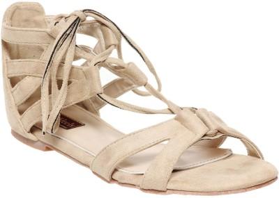 Flat n Heels Women Beige Flats