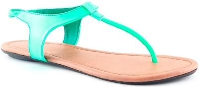 Cenizas JU14 Women Green Flats