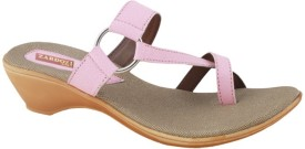 Zardozi Women Pink Sports Sandals