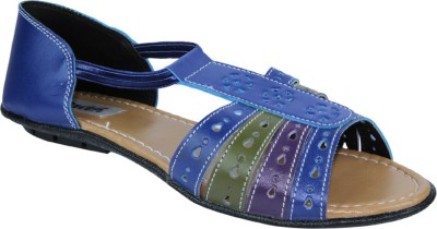 Faith Women Blue Flats
