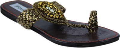 Faith Women Gold Flats