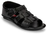 Wave Walk Men Black Sandals