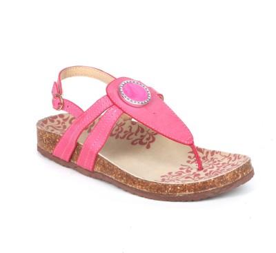 Aqua Women Pink Flats