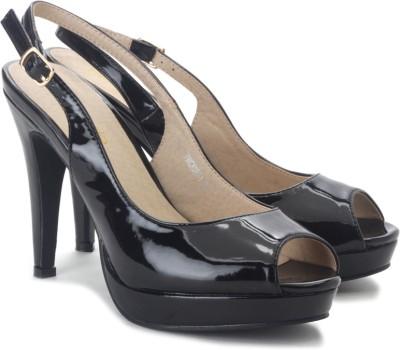 Tresmode Hadance-1 Women Black Heels