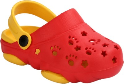 Time Expert Baby Boys Red Sandals