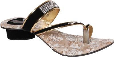 Sapyork Women Black Heels