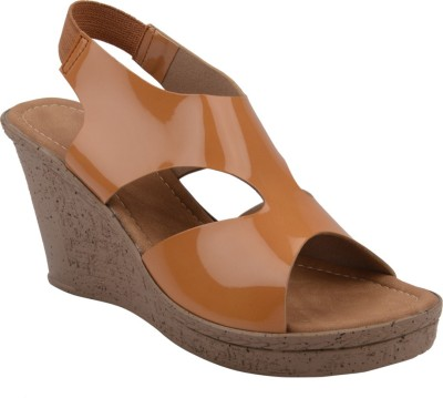 Chicopee Women Beige Wedges