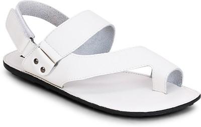 Get Glamr Men White Sandals