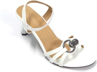 CreativeSelections Women White Heels