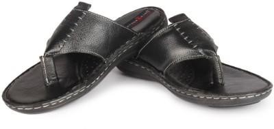 Leather King Amsterdam Black Men Black Sandals