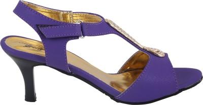 Style Buy Style Women Purple Heels