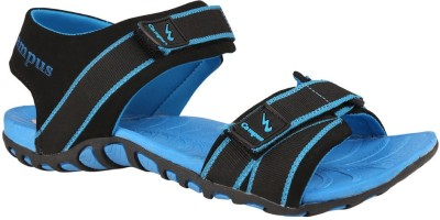 Action Campus Men Black, Blue Sandals