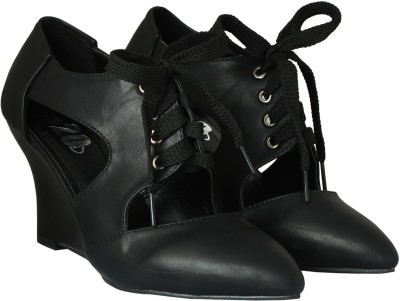 20Dresses Women Black Wedges