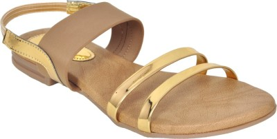 Shoe Dice Women Beige Flats