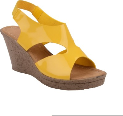 Chicopee Women Yellow Wedges